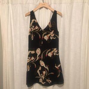 Aritzia Little Moon printed dress